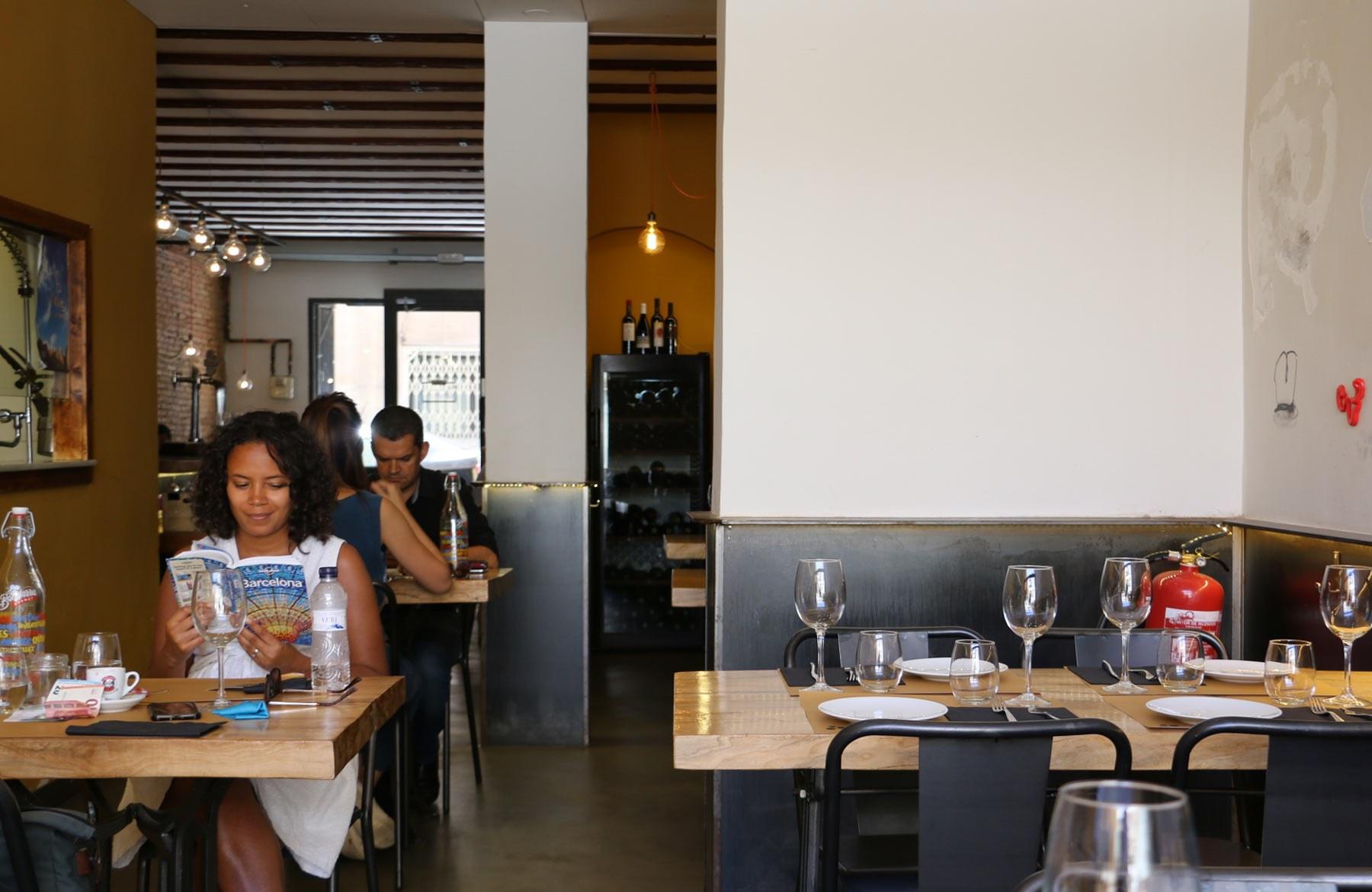 Barcelona Leah Restaurant