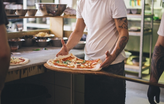 Ruddy Pizza Main